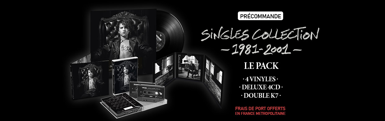 SINGLES COLLECTION 1981-2001 : LE PACK