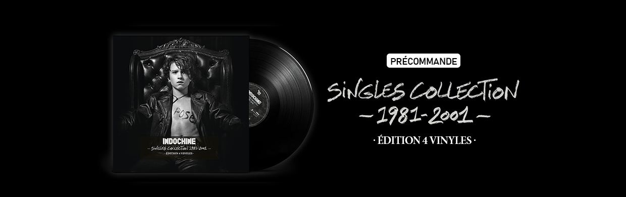 SINGLES COLLECTION 1981-2001 : 4 Vinyles